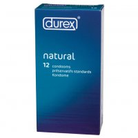 Natural x 12 Condoms