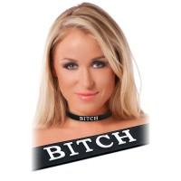 Black Silicone Bitch Collar