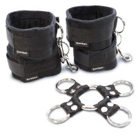 SportSheets 5 Piece Hog Tie And Cuff Set